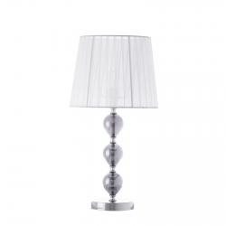 Lámpara de sobremesa árabe blanca de cristal para dormitorio Arabia
