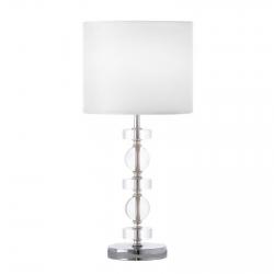 Lámpara de sobremesa minimalista blanca de metal para salón Fantasy
