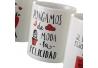 Tazas romanticas frases 350cc (Set de 4 tazas)