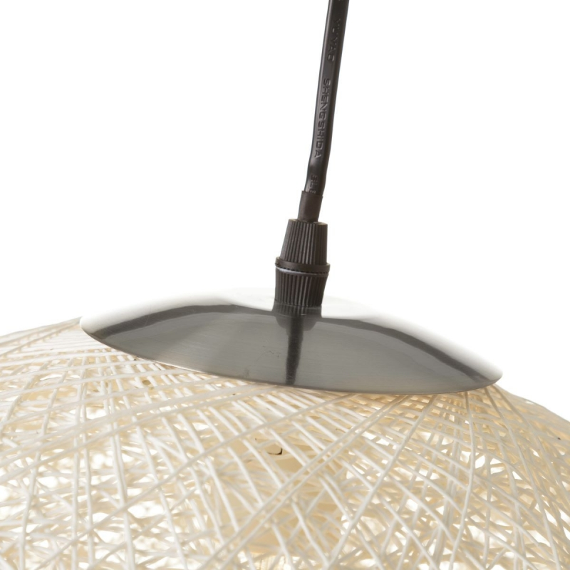 Lámpara de diseño minimalista blanca de metal para salón Fantasy ...