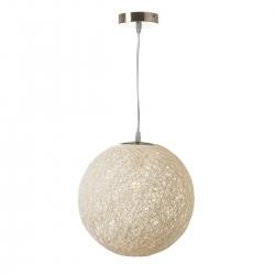 Lámpara de diseño minimalista blanca de metal para cocina Fantasy