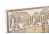 Marco foto de madera tallada elefante para foto 10x15 cm