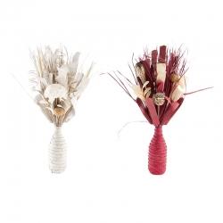 Ramos flor seca de 50 cm espiral - pack 2 ramos