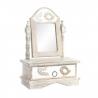 Joyero espejo madera tallada pajaros 25x13x35 cm