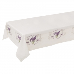 Mantel mesa provenzal lila lavanda 148x200 cm