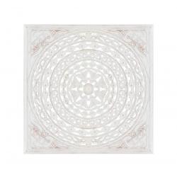 Mural - tallada blanco rozado dm étnico 60x60 cm