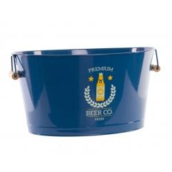 Cubitera 18 litro azul con asa