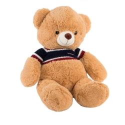 Peluche oso grande poliester de 50 cm